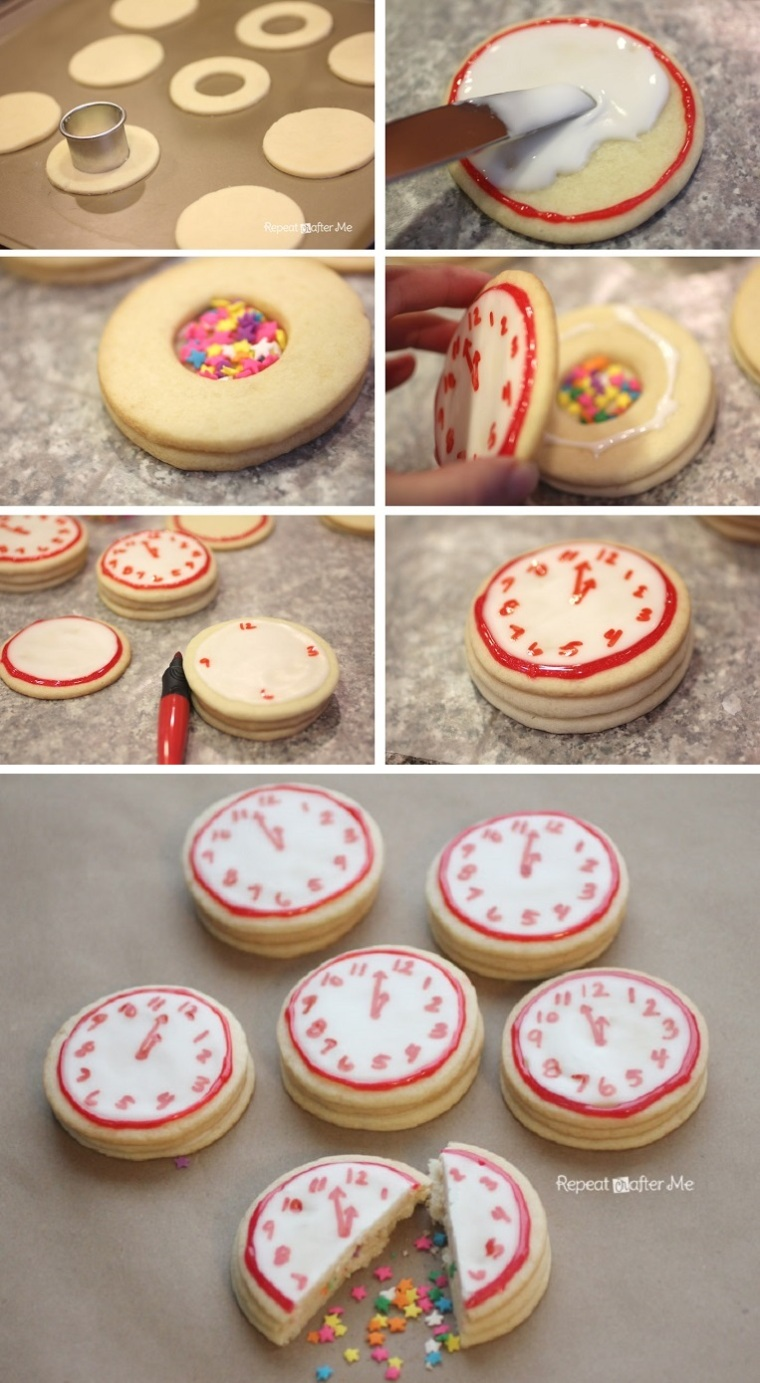 New-Years-Confetti-Clock-Cookies