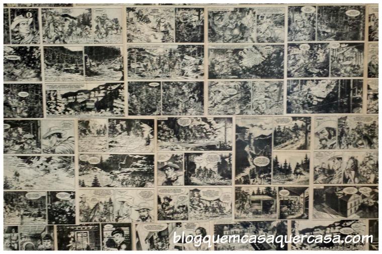 quadrinhos parede