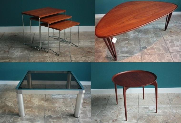 mesas de centro diferentes