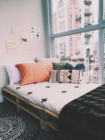 pallet cama solteiro